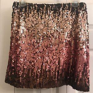 Sequins mini skirt, Small